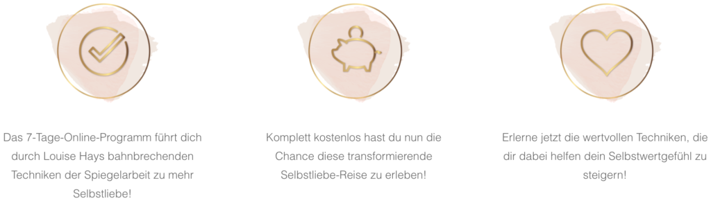 Liebe dich Selbst Features